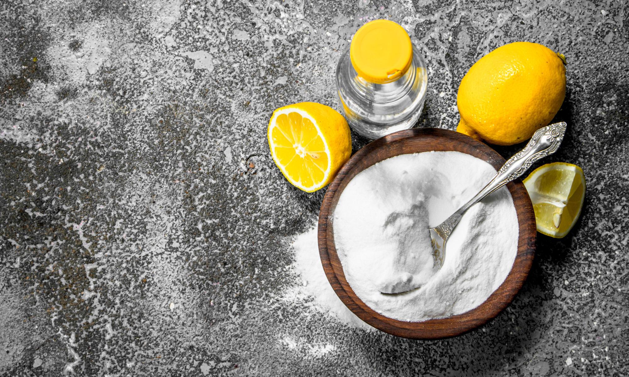 Soda ocet cytryny