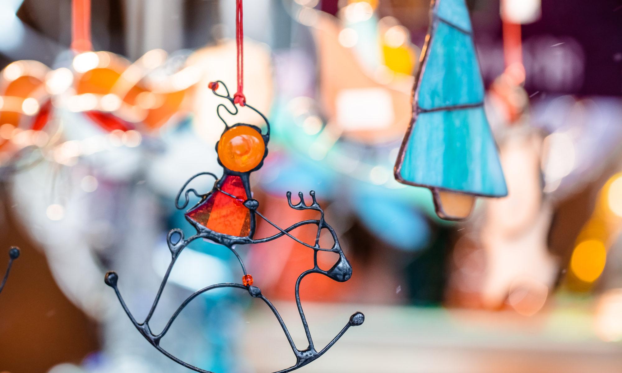 świąteczne dekoracje ze szkła