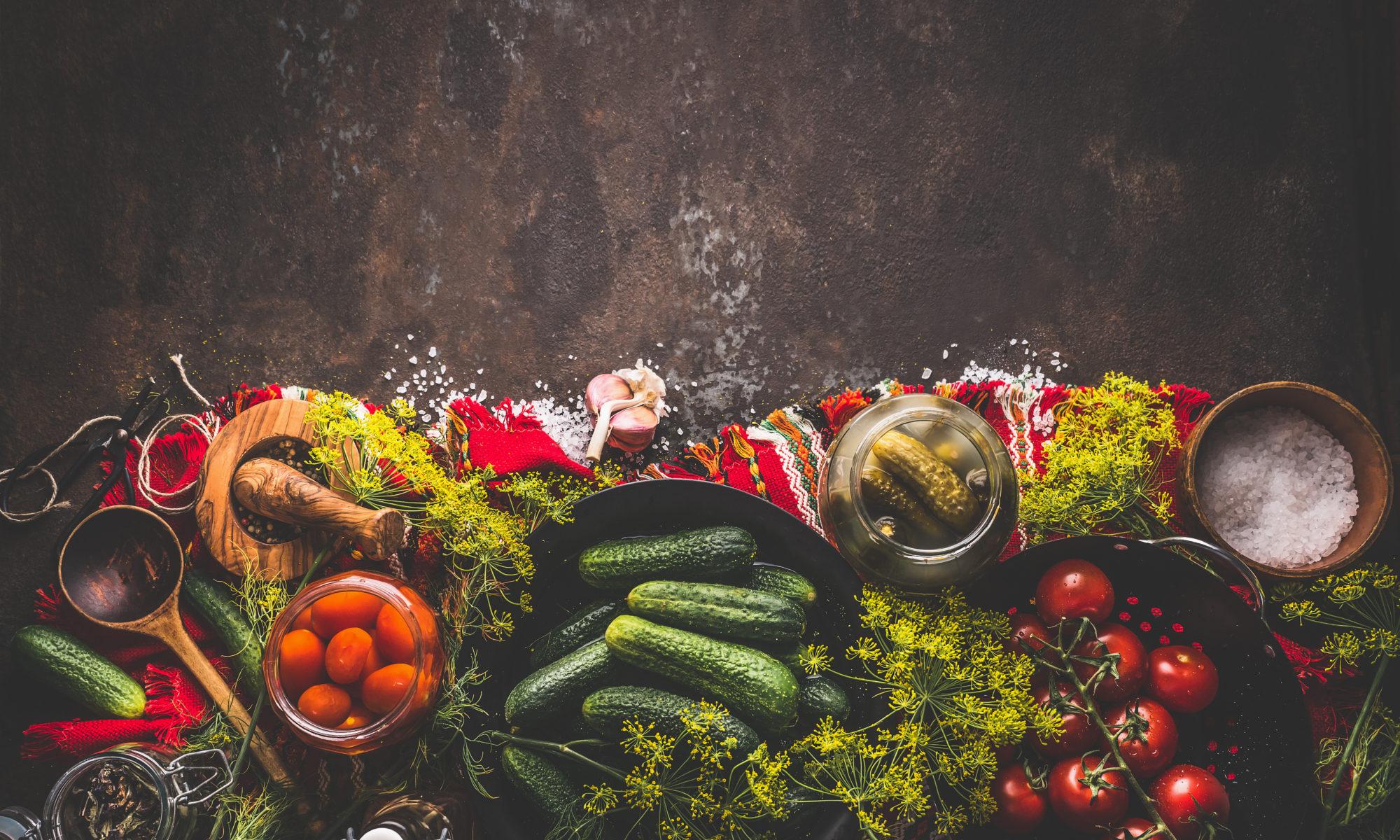 kiszenie warzyw i owoców